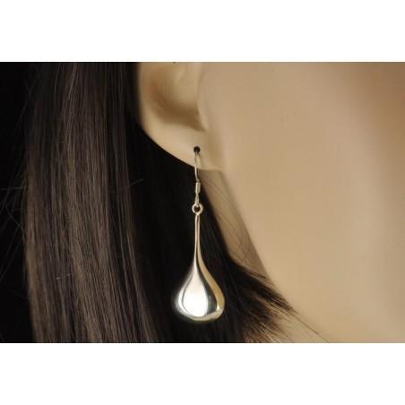 Boucles d'oreilles pendule argent 925