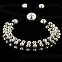 Bracelet perle métallique