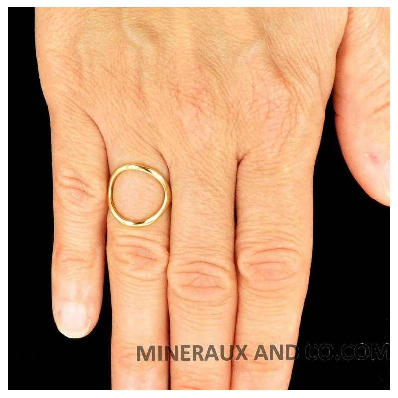 bague or rond