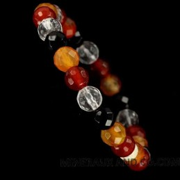Bracelet pierres multi-couleurs