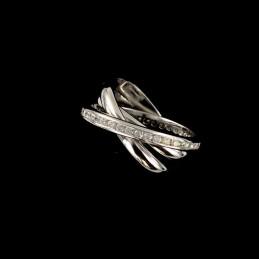 bagues trois anneaux argent zirconium bague trois anneaux. Black Bedroom Furniture Sets. Home Design Ideas