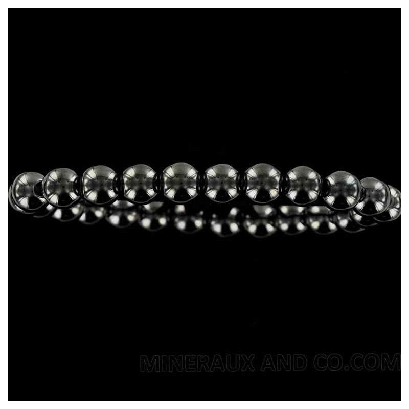Bracelet pierre hématite.
