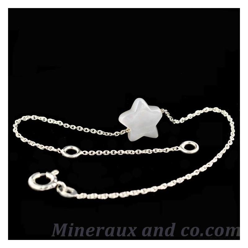 Bracelet étoile de nacre naturelle