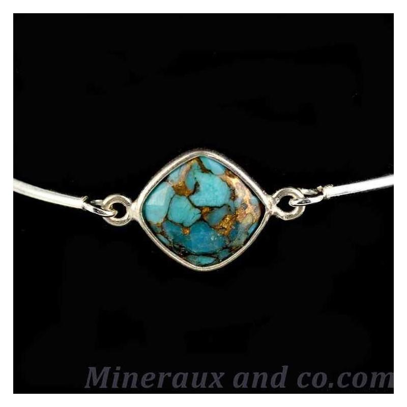 Bracelet en turquoise.