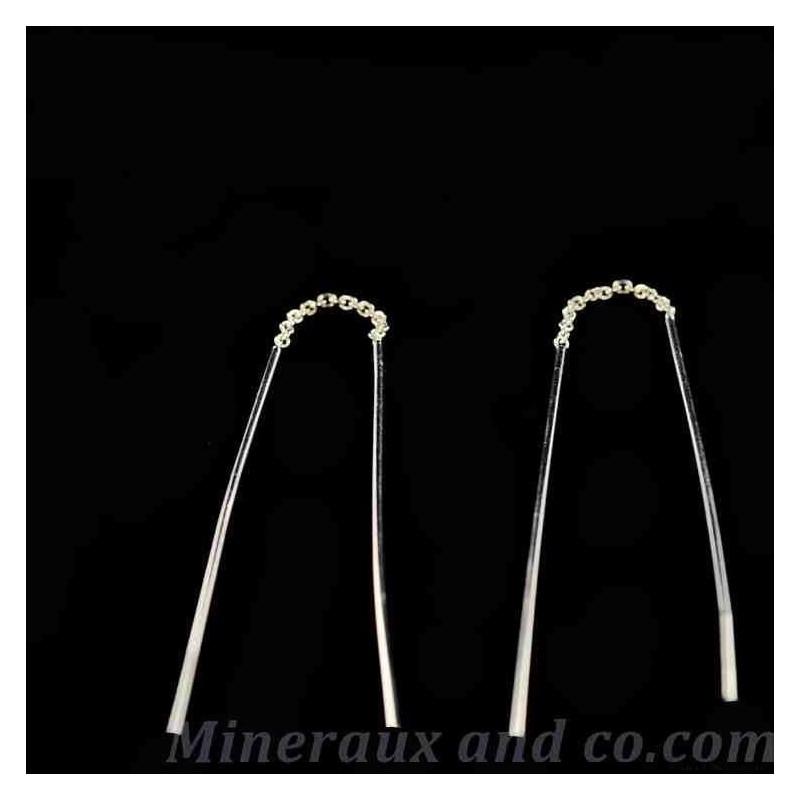 Boucles chaîne tige rigide