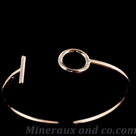 Bracelet cercle barre
