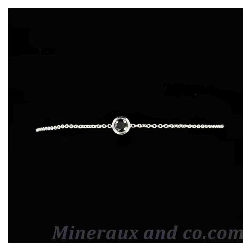 Bracelet zircon serti
