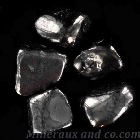 Lot de pierres shungite roulée