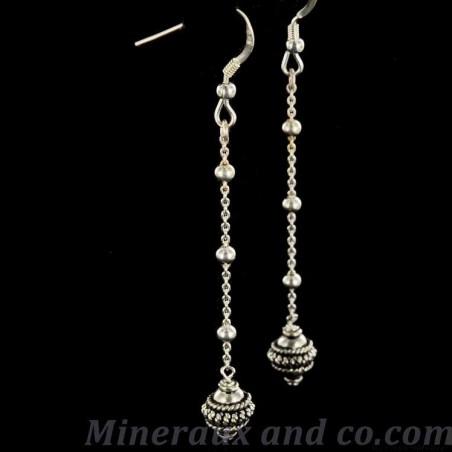 Boucles d'oreilles pendantes India