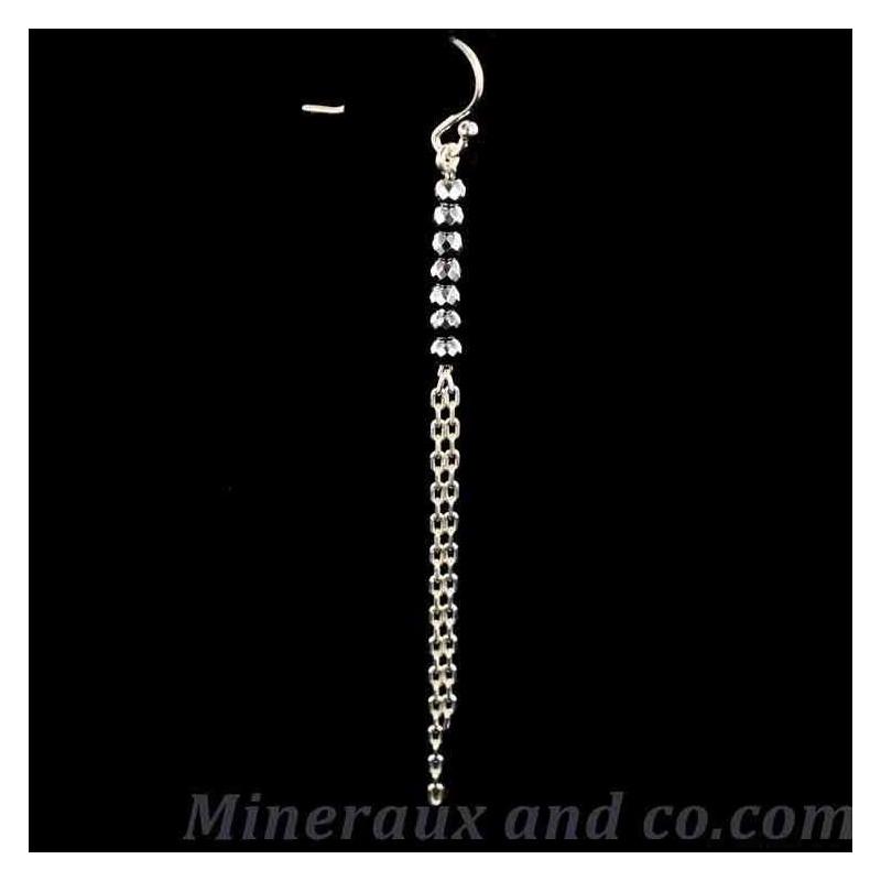 B o pendantes et perles d'hématite