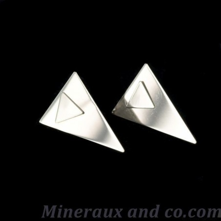 Boucles double triangle