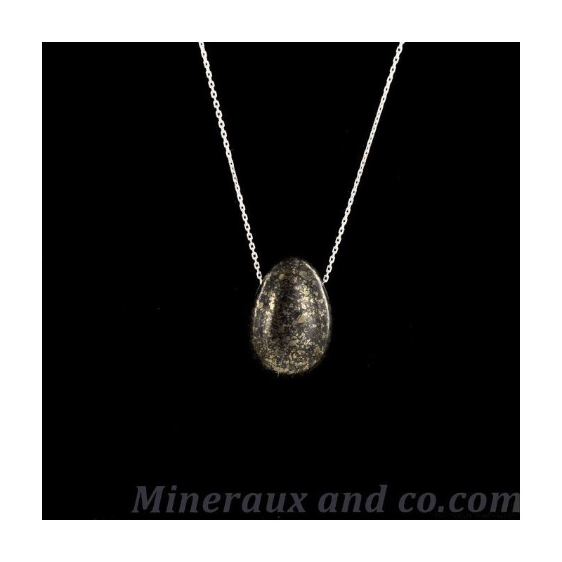 Pendentif pyrite et magnétite
