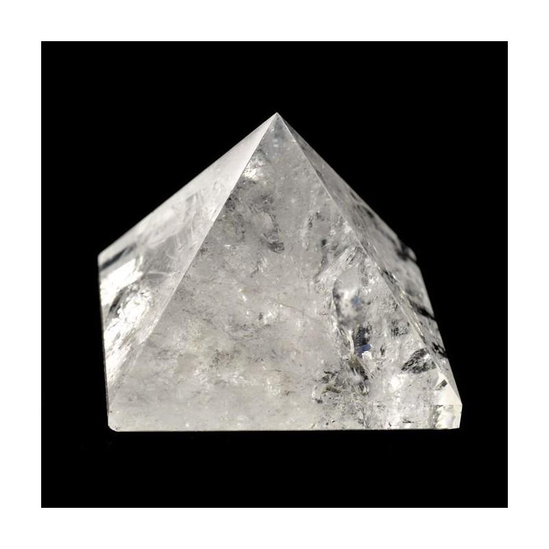 Pyramides cristal quatre faces