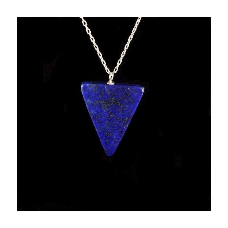 Pendentif Lapis triangle