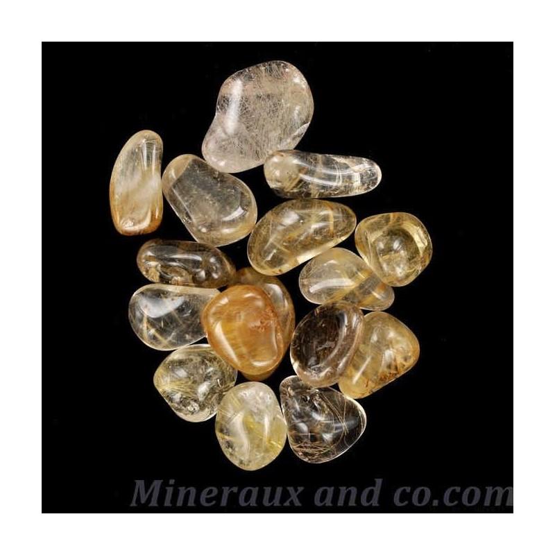 Lot quartz rutile